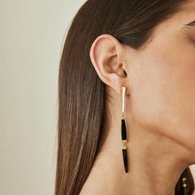 Load image into Gallery viewer, Soko Imara Mixed Material Dangle Earrings