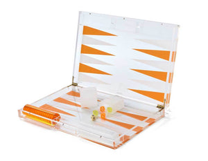Tizo Collection Acrylic Orange Game Set
