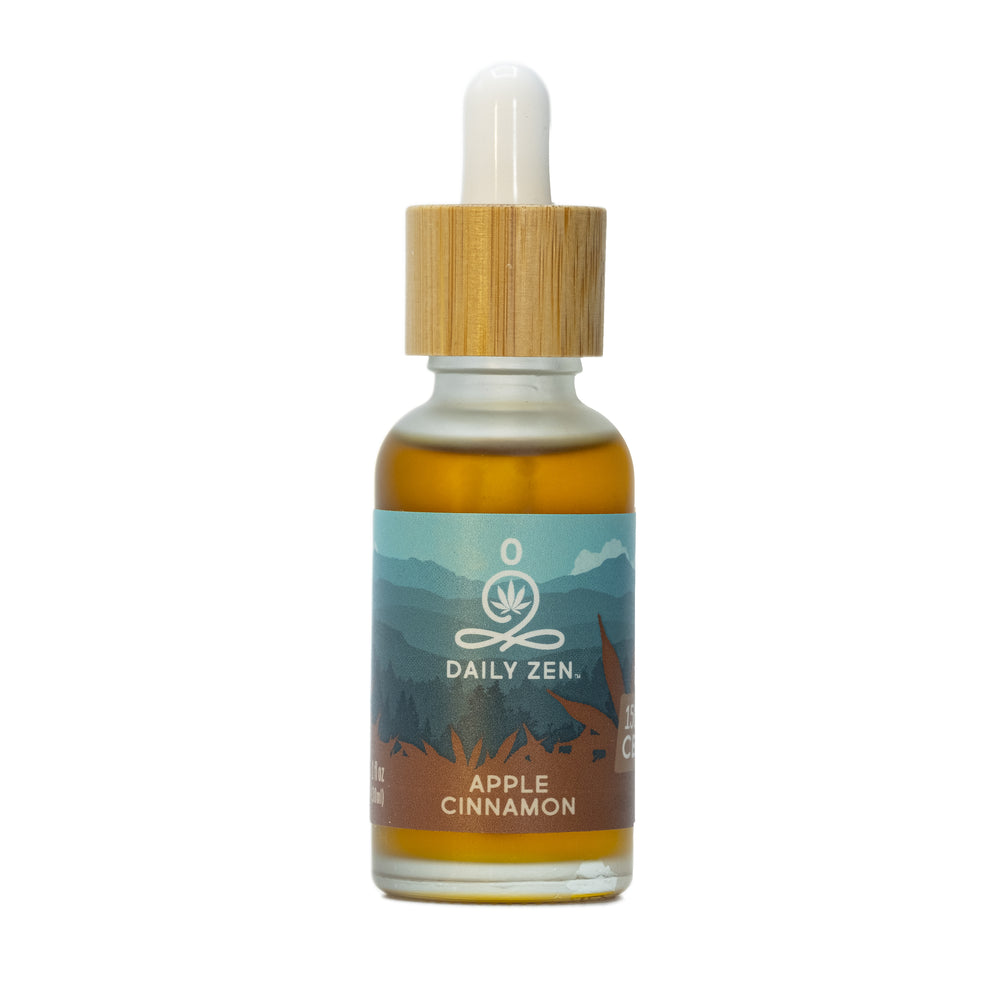 Zenbarn Farms Daily Zen - Apple Cinnamon - 1500mg CBD Oil