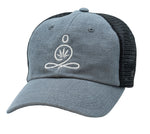 ZBF LOGO HEMP HAT - BLUE