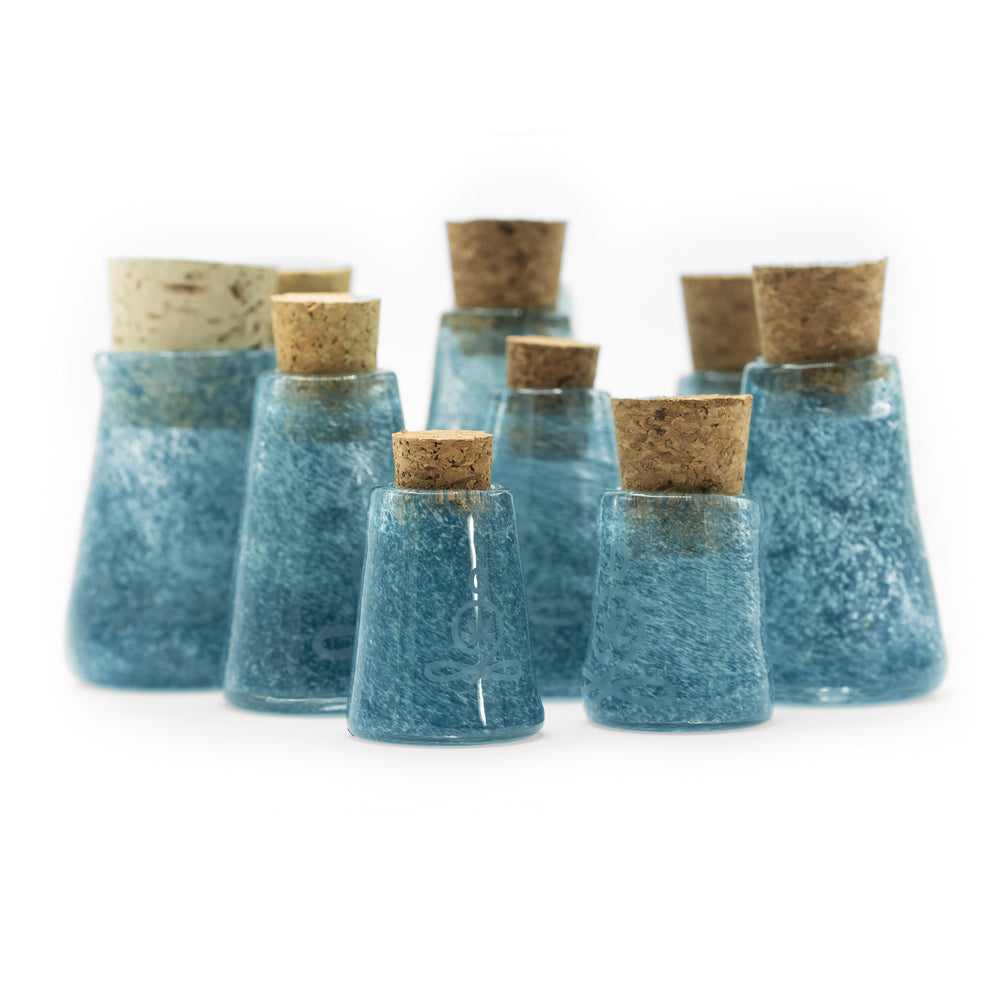 Zen Blue Stash Jars