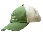 ZBF LOGO HEMP HAT - GREEN