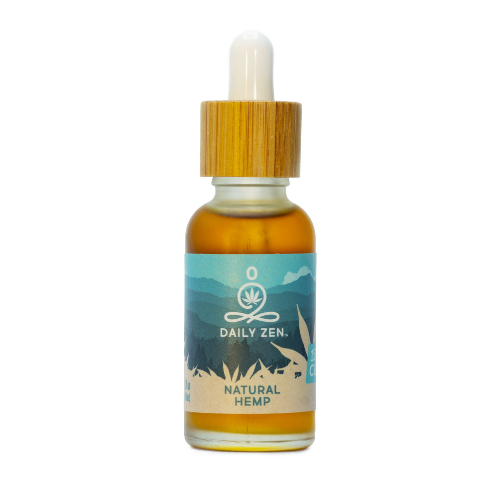 Zenbarn Farms Daily Zen - Natural Hemp - 1500mg CBD Oil