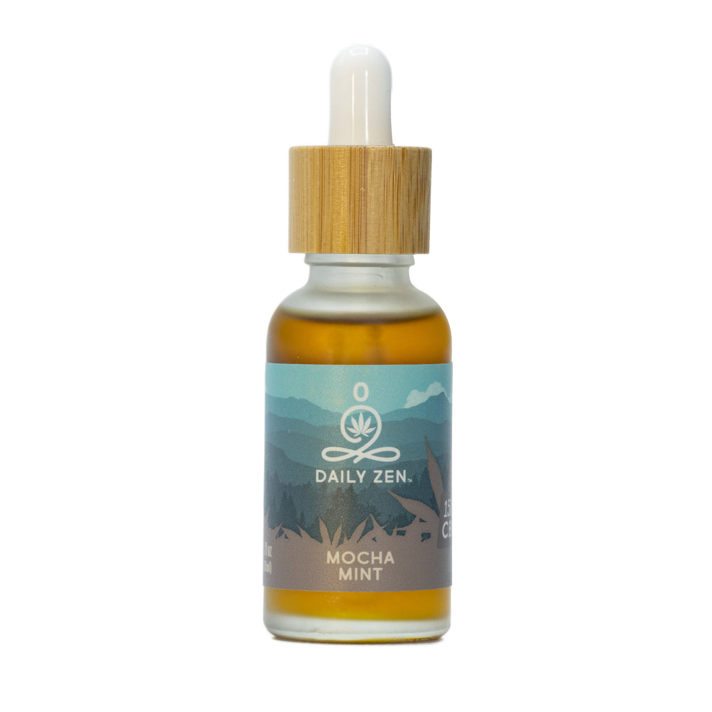 Zenbarn Farms Daily Zen - Mocha Mint - 1500mg CBD Oil