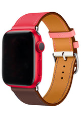 Apple Watch Uyumlu Duo Loop Kordon Obsidian