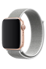 Apple Watch Spor Loop Kordon Beyaz Gri
