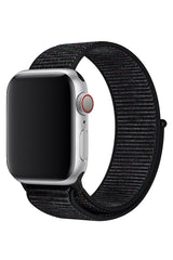 Apple Watch Spor Loop Kordon Kırçıllı Siyah