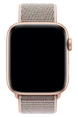 Apple Watch Uyumlu Spor Loop Kordon Kum Pembe