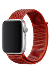 Apple Watch Uyumlu Spor Loop Kordon Maun Turuncu