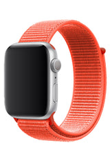 Apple Watch Uyumlu Spor Loop Kordon Neon Turuncu
