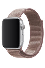 Apple Watch Uyumlu Spor Loop Kordon Puce Pembe