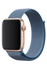 Apple Watch Uyumlu Spor Loop Kordon Pastel Mavi