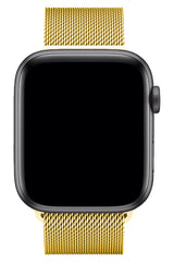 Apple Watch Çelik Milano Loop Altın