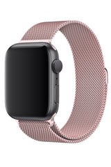 Apple Watch Çelik Milano Loop Kum Pembe