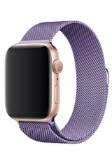 Apple Watch Çelik Milano Loop Lila