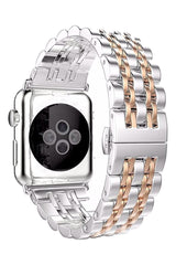 Apple Watch Klasik Çelik Loop Kordon Rose Gold