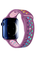 Apple Watch Uyumlu Silikon Delikli Spor Kordon Zoisit