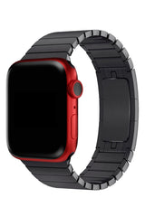 Apple Watch Uyumlu Bilezik Loop Kordon Siyah