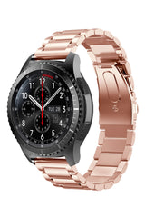 Samsung Galaxy Gear Uyumlu Çelik Loop Rose Gold