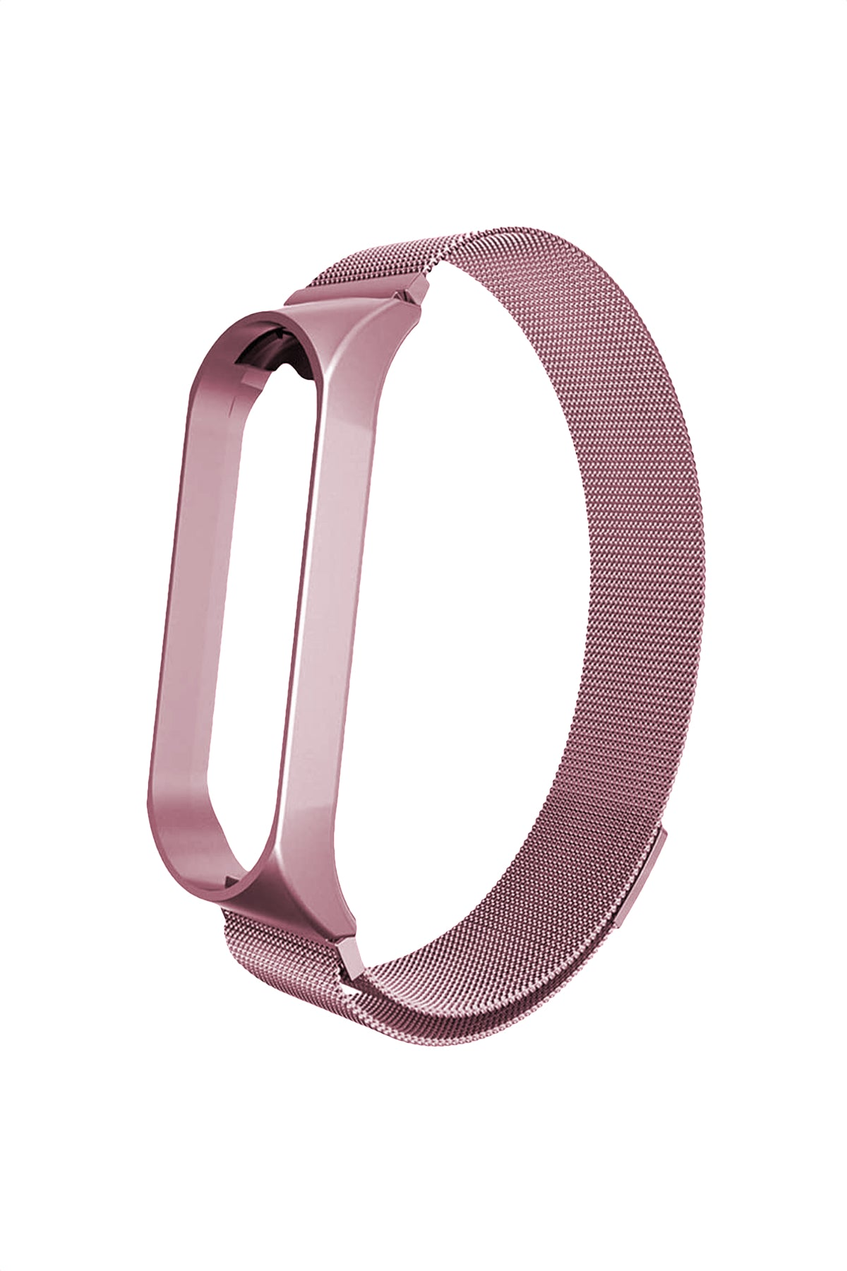 Xiaomi Mi Band 3 & 4 Uyumlu Metal Loop Rose Gold