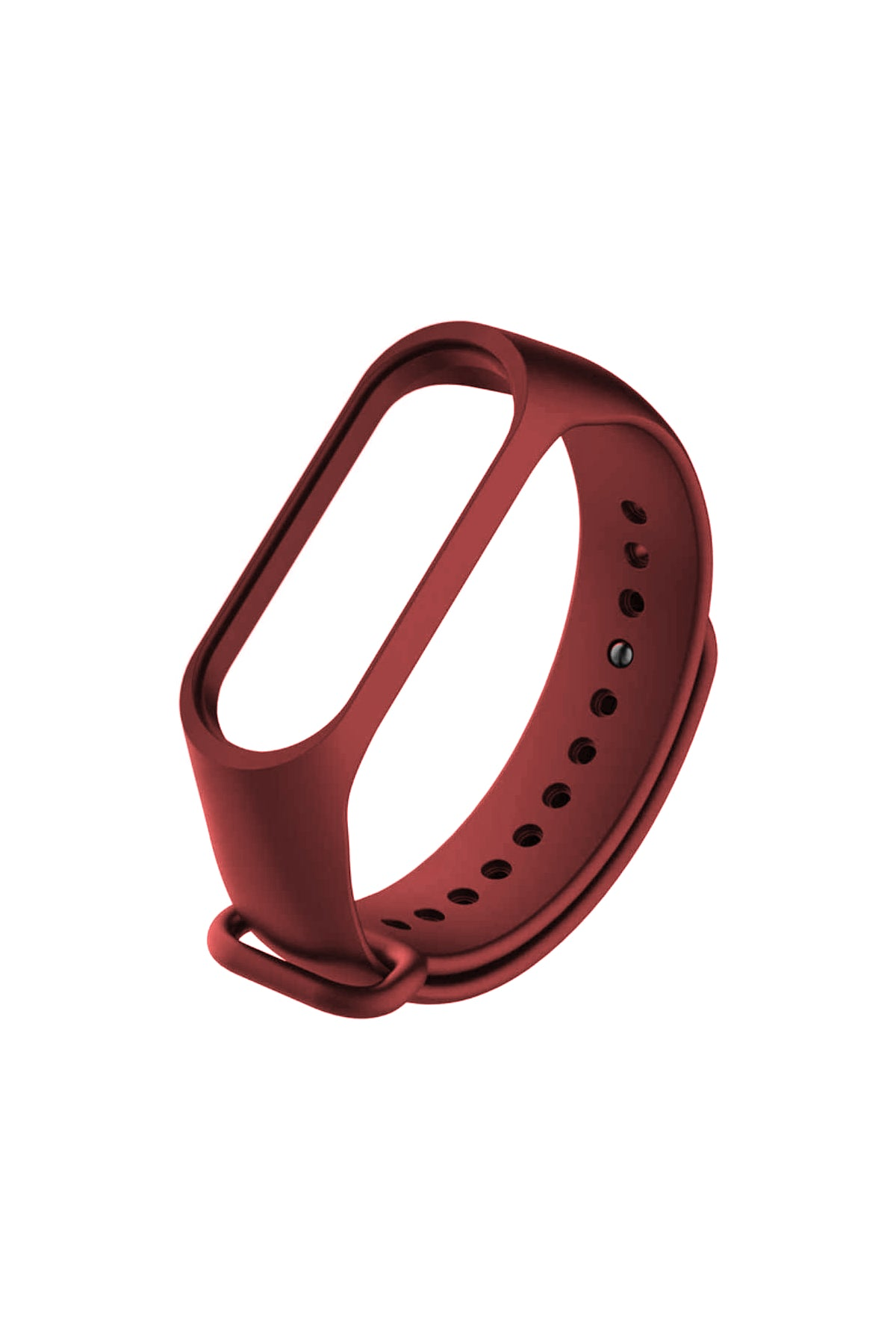 Xiaomi Mi Band Spor Silikon Kordon Bordo