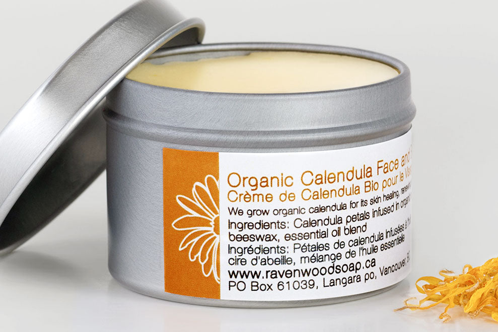Calendula Face and Body Cream (Organic)