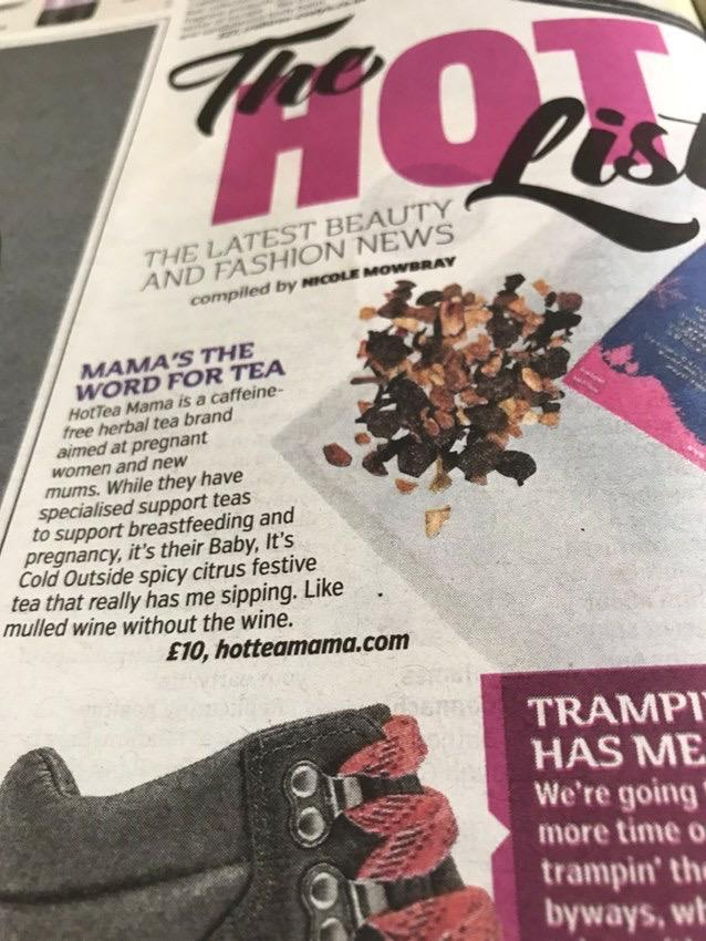 We're in the Metro Hot List! - HotTea Mama