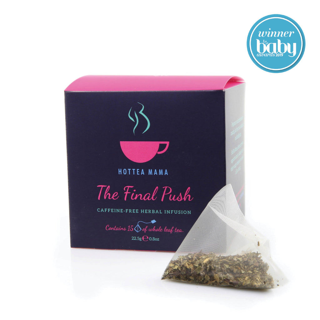 Mother & Baby Magazine picked HotTea Mama's Final Push Tea as on of the best raspberry leaf teas in the UK