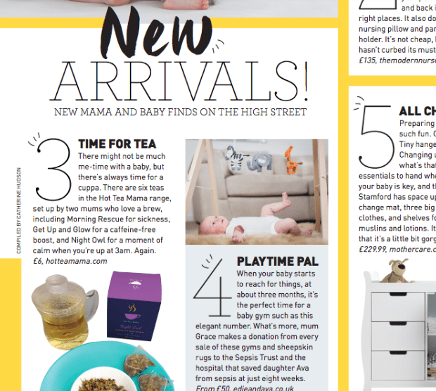 Gurgle Magazine picking HotTea Mama as a new arrival to watch out for