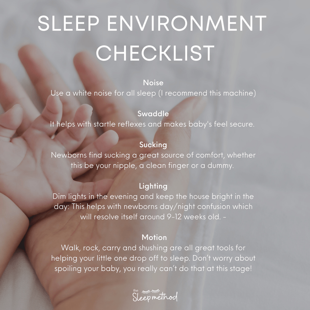 Cara from The Sleep Method gives her expert advice on how to help your newborn sleep, perfect advice for any new mum or if you're expecting a baby