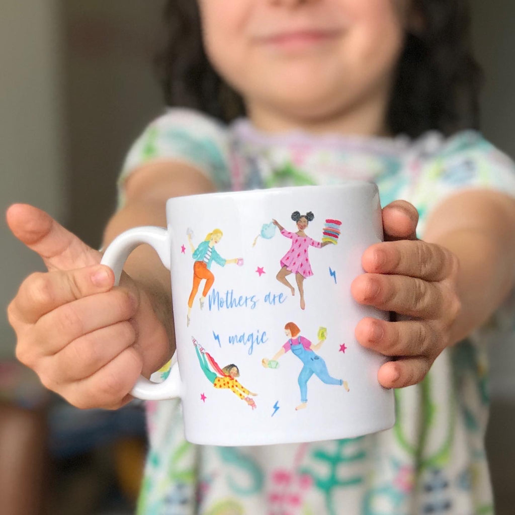HotTea Mama has a range of mugs designed for motherhood, to cheer you on and to help when needed