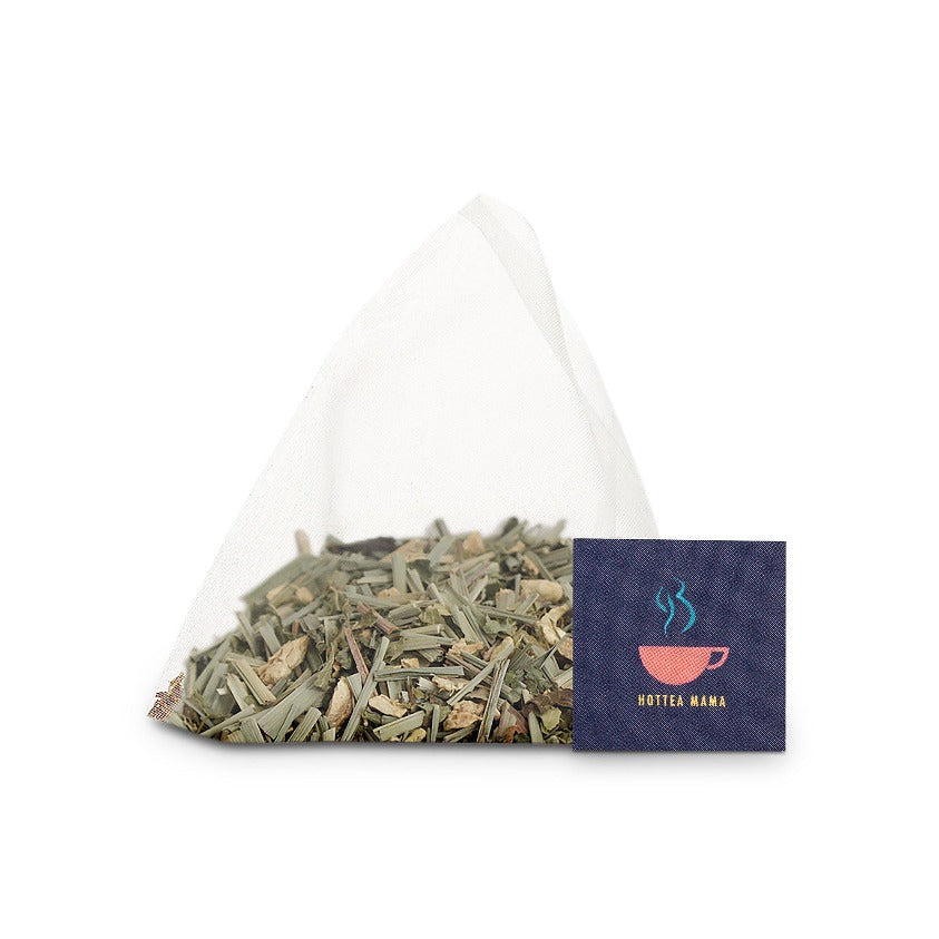 Morning Rescue whole leaf pyramid tea bag for morning sickness