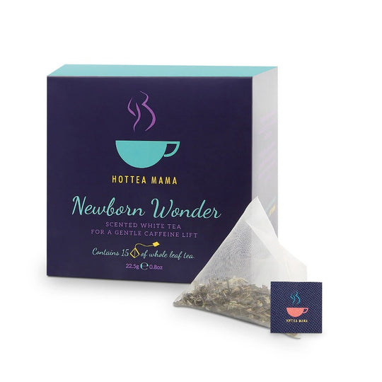 Newborn Wonder pregnancy tea, the perfect newborn baby gift