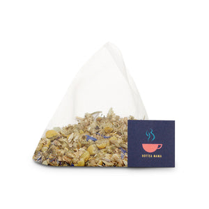 Night Owl tea is full of herbs and flowers to aid rest and relaxation