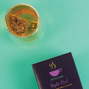 Night Owl Tea is full of calming flowers and herbs to help aid rest and relaxation