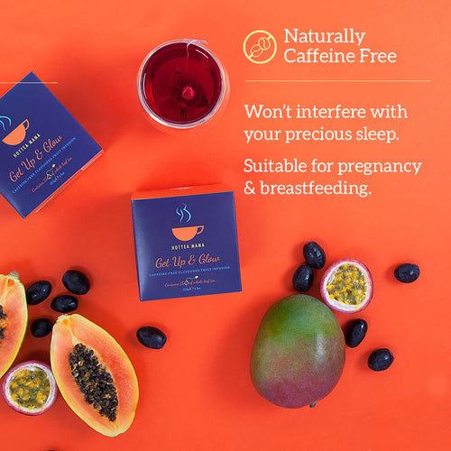 Caffeine free pregnancy tea by HotTea Mama