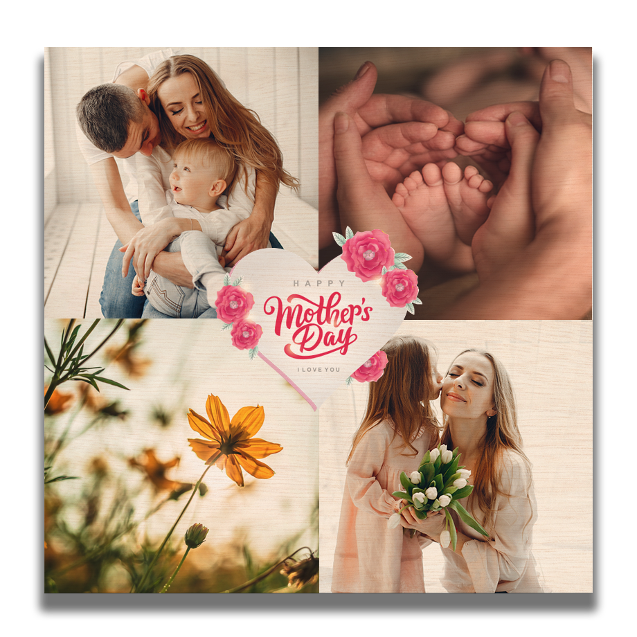2 x 2 Mothers Day Photo Montage