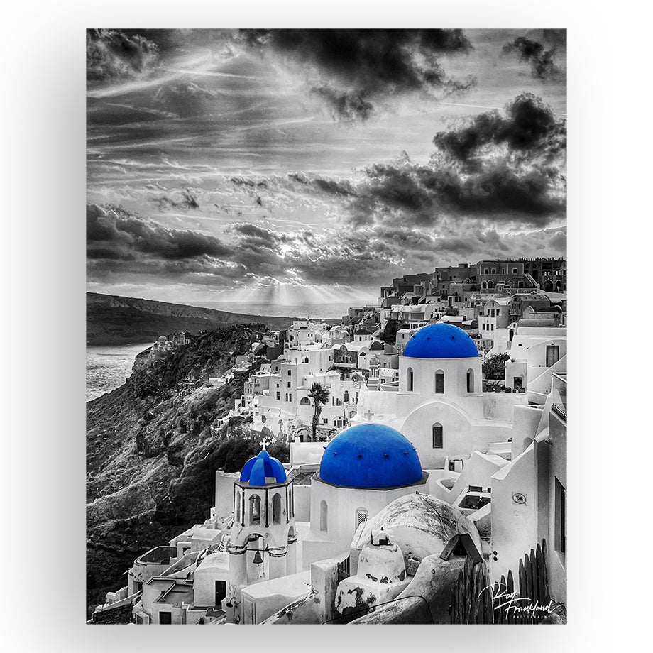 Sunset of Oia, Santorini (Roy Frankland)