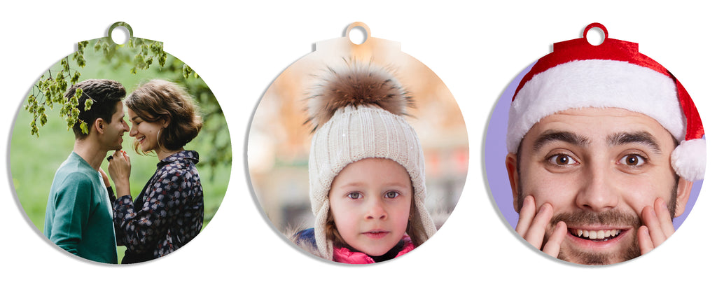 Tree Decs Set of 3 (Bauble)
