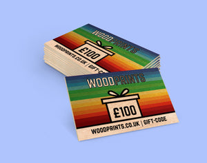 Wood Prints Gift Card