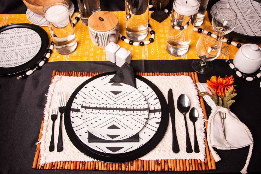 Assata Family table setting