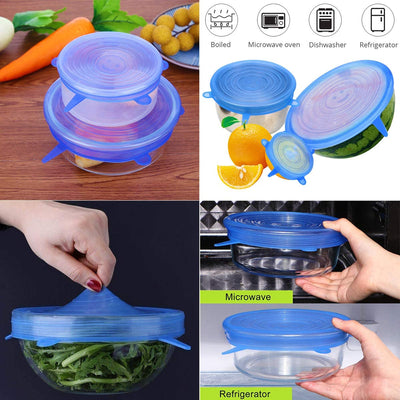 Silicone Stretch Lids Food Covers - CoocoShop
