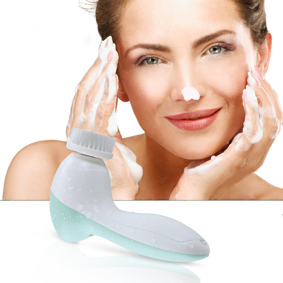Electric Facial Brush Face Deep Cleansing Device FOR ALL SKIN Care - CoocoShop