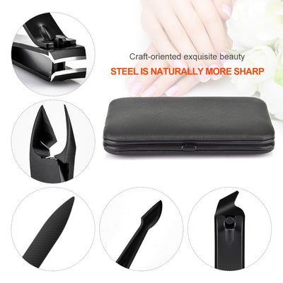 Professional Manicure Pedicure Nail Clipper Kit Set - CoocoShop