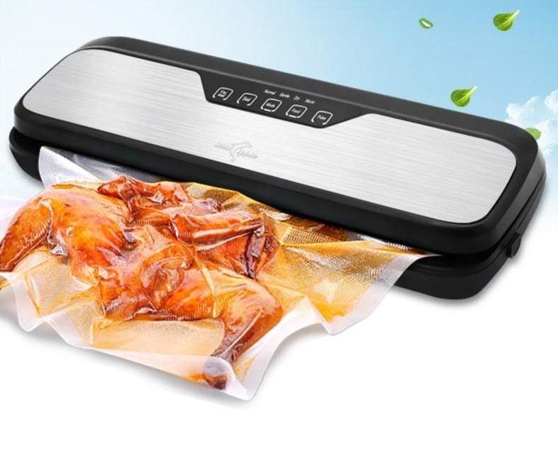 FOOD VACUUM SEALER BEST PORTABLE FOOD SAVER MACHINE - CoocoShop
