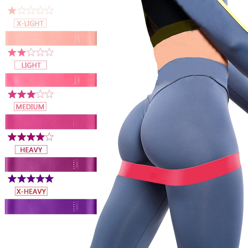 Yoga Fitness Resistance bands/5 pcs - CoocoShop