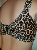 BRIGITTE UNDERWIRE TOP In LEOPARD
