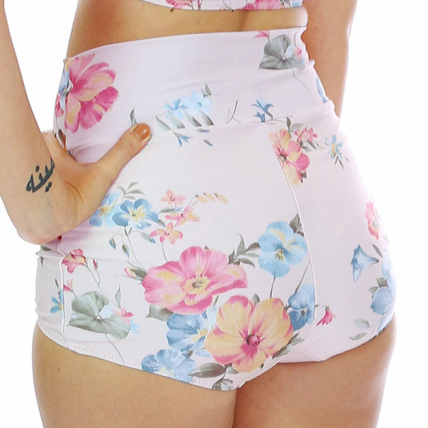 Baby Floral Retro Bottom
