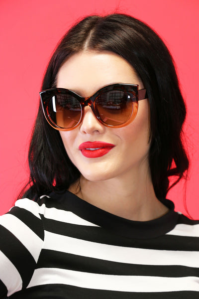 Jackie-O Sunnies in Tortoise Shell
