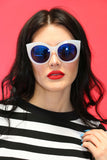 Jackie-O Sunnies in White